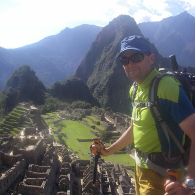 Jon Green at Machu Picchu